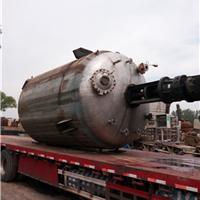 供应二手5立方不锈钢反应釜 搪瓷反应釜报价
