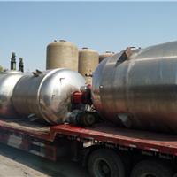 供应二手10立方不锈钢反应釜搪瓷反应釜价格
