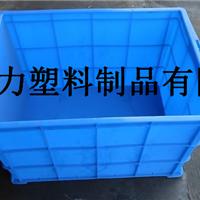 供应720箱绿色周转塑料箱 医用大号周转箱