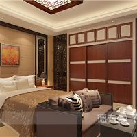 供应2016新中式卧室衣柜