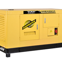 供应15KW低噪音柴油发电机