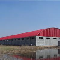 贺州拱形屋面无梁拱,双层拱形波纹钢屋盖