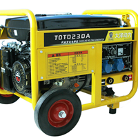 230A发电电焊一体机,大泽销售工程师朱明