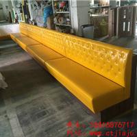 供应南山茶餐厅桌椅、弧形卡座沙发厂家