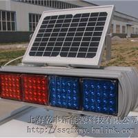 供应太阳能警示灯定制;太阳能红蓝频闪灯