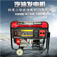 供应5000瓦单相汽油发电机组