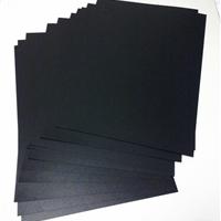 黑色PVC发泡板高密度安迪板广告雕刻展示