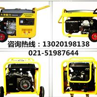 单缸190A汽油发电电焊机