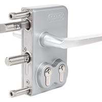供应locinox双锁芯门锁,双钥匙锁,库房锁