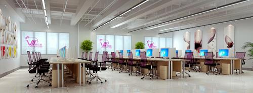 美科广州办公楼装修有实力的装修公司不外包