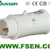 供应12V 低压防水插头插座16A 32A