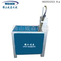 供应不锈钢冲孔机方管切角机威森护栏冲孔机