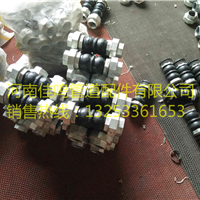 JGD-B油任丝扣橡胶软连接|风机盘管丝扣活接