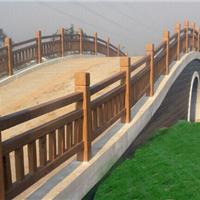 河南专业仿木护栏,首选20经验天目逆源厂家