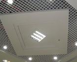 勾搭式天花系列、广州医院铝方板