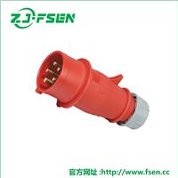 供应工业插头插座 防水插座箱