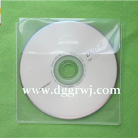 供应多款环保透明单碟CD袋/CD内页