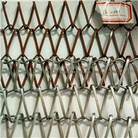 供应扁丝不锈钢编织装饰网帘可设计安装