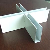 铝格栅安装、 免焊铝格栅