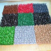 环保聚乙烯人造草坪汽车脚踏垫设备/生产线