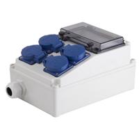 供应插座组合箱 三防插座防水箱 配电盒