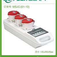 IP67电气密封箱 遂道照明工业组合插座箱