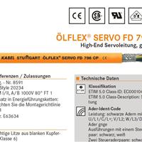 供应LAPP OLFLEX电缆