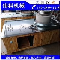 小型石磨芝麻酱机 可移动磨酱 芝麻酱石磨机