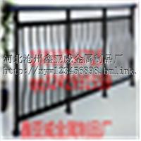 供应新钢压弧型阳台护栏