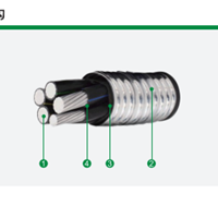 供应安徽双诚新材料阻燃A级铝合金电力电缆