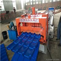 供应800型大竹节式仿古琉璃瓦压瓦机