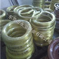 打螺丝黄铜线H68 H70 黄铜线3/4Y硬度