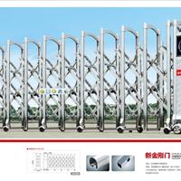 深圳电动伸缩门厂家在哪 伸缩门安装