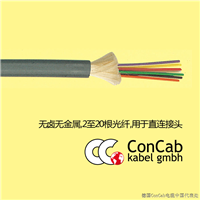 光纤电缆0105_无卤无金属_带宽松束套