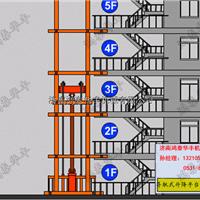 供应大同升降货梯 导轨式升降机