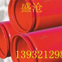 消防涂覆钢管矿用涂塑钢管给排水涂塑钢管