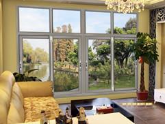 断桥铝窗户一体纱窗防盗窗断桥平开窗封阳台