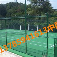 宜昌球场绿色围栏网与立柱搭配更加美观牢固