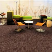 办公室拼块地毯  方块地毯首选厂家