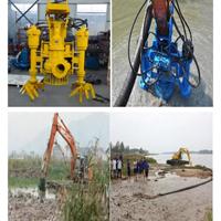 挖机抽沙泵 耐用液压输送设备