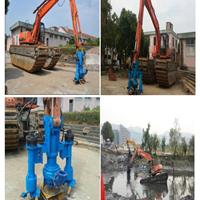 挖机泥浆泵,高效率河道清淤机器