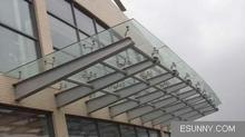 供应供应陕西玻璃雨棚厂家西安玻璃雨棚制作