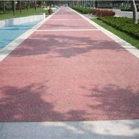 供应上海透水混凝土彩色印花地坪