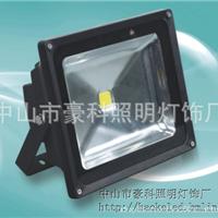 20WLED泛光灯 黑色壳LED大功率集成投光灯