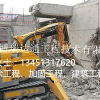 乌海市混凝土楼板切割、机器人破碎拆除公司