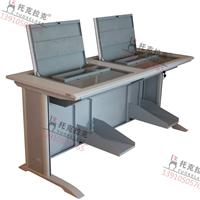 托克拉克翻转式电脑桌高档培训会议专用