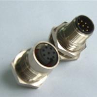 供应Co-fly面板式M12圆形插座