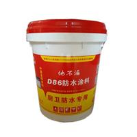 供应D86防水涂料 厨卫防水专用柔韧型