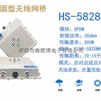 供应5G工业级无线网桥大功率远距离无线监控