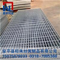 水沟盖钢格板 发电站格栅板 污水处理格栅
